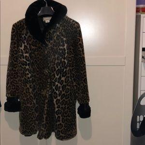 Leapord print jacket